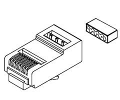 sentinel shielded modular rj45 plug part number 111