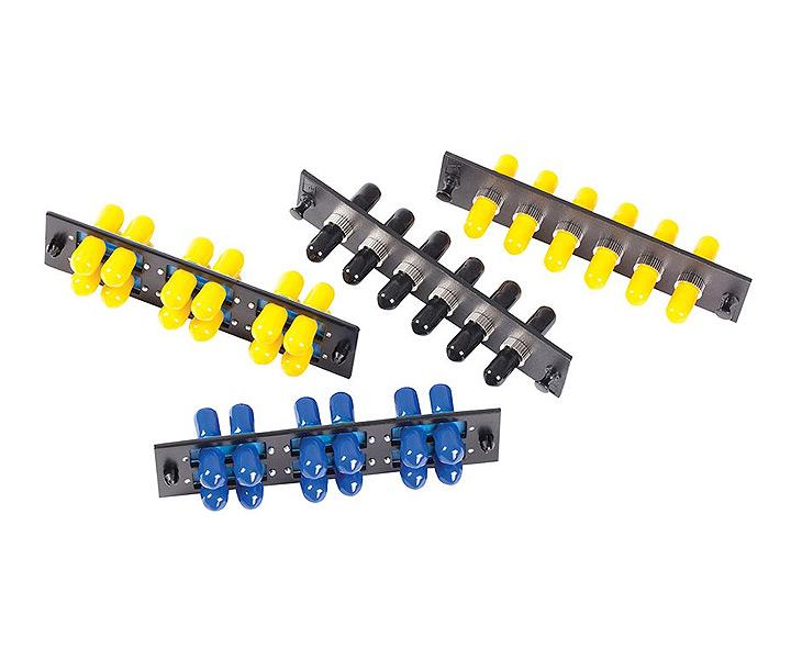 616MMST Composite Sleeve OCC 6-Port ST Fiber Optic Adapter Plate Multi-mode