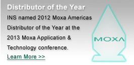 2012 Moxa Americas Distributor of the Year