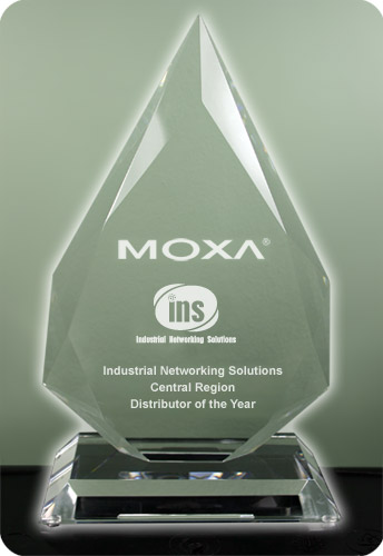 Moxa Central Region Distributor of the Year