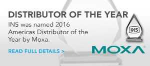 Moxa Americas 2016 Distributor of the Year